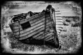 Vintage fishing boat. — Stock Photo