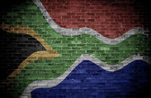 South African flag. — Stockfoto