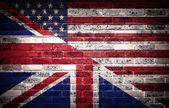American and British partnership. — Stock Photo