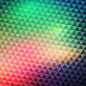 Colorful Geometric Banner — Stock Photo