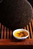 Wielki gren chińskiej herbaty — Zdjęcie stockowe