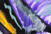 Abstract paintings by graffiti — Stock Photo