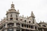 Detail the building of San Sebastian, Guipuzcoa, Spain — Stock Photo