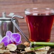 Cup of tea, herbal hot drinks — Stock Photo