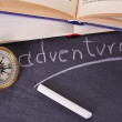 Compass, travel concept — Stock Photo