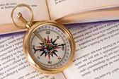 Compass orientation tool — Stock Photo