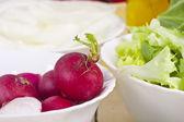 Salad healthy — Stock Photo
