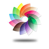 Vector color wheel — Stock Photo