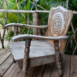 Old wooden chair — Stock Photo #13775500