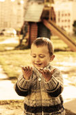 Lycklig pojke — Stockfoto