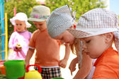 Children on the playground — Stock Photo