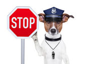 Politiehond — Stockfoto