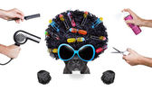 Hairdresser dog  — Stockfoto