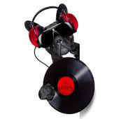 Dog record vinyl — Stock Photo