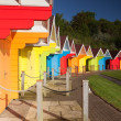 Beach huts - Foto de Stock