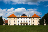 Castle in Slavkov — Stock Photo