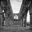 Rievaulx Abbey - Stock Photo