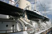 Velký křižník loď — Stock fotografie