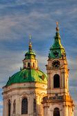 Famous St Nicholas church — Stock Photo