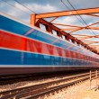 The speed train — Stock Photo