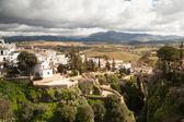 City of Ronda in Spain in winter — Stock Photo