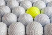 White golf balls — Stock Photo