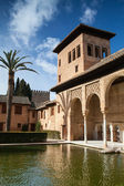In Alhambra in Granada — Stock Photo
