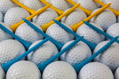 Golf equipments — Stock Photo