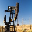 Oil field in desert — Stock Photo #22459673