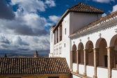 Pavillon de generalife de alhambra complexo — Fotografia Stock