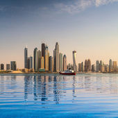 City panorama in Dubai — Stock Photo