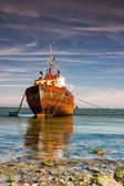 Old trawler — Stockfoto