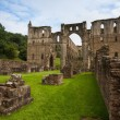 Ruins of famous Riveaulx Abbey — Stock Photo