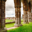 Ruins of Whitby Abbey — Stock Photo