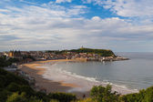 Cove in Scarborough in Great Britain — Stok fotoğraf