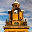 Tower clock in Scarborough — Stock Photo