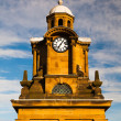 Stock Photo: Tower clock in Scarborough