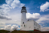 Lighthouse in Flamborough — Stock Photo