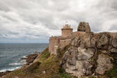 Fort La Latte - fortress on the coast in Brittany — Stock Photo