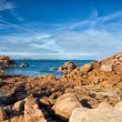 On the impressive coast in Brittany — Stock Photo