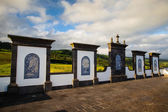 Place of pilgrimage on Sao Miguel, Azores — Stock Photo