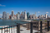Manhattan skyline - New York, NYC — Stock Photo