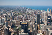 View on Chicago skyline panorama — Stock Photo