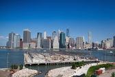 Horizonte de manhattan - new york, nyc — Foto Stock