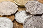 Different money from South Africa — Stock Photo