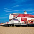 GREAT YARMOUTH - JULY 8: The Old pier on July 8, 2010 in Great — Stock Photo #34081975