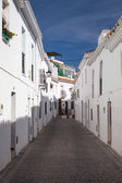 Typical white houses in Mijas — Stock Photo