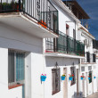 Typical white houses in Mijas — Zdjęcie stockowe
