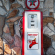 Renovated historic gasoline pump — Stock Photo