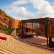 Famous Red Rocks Amphitheater in  Denver — Lizenzfreies Foto